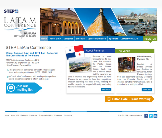Step Latam Conference